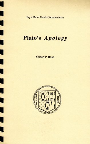 Apology (Greek Commentaries Series)