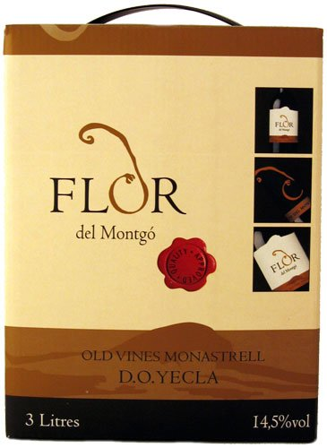 Flor del montgo bag in box 3 liter