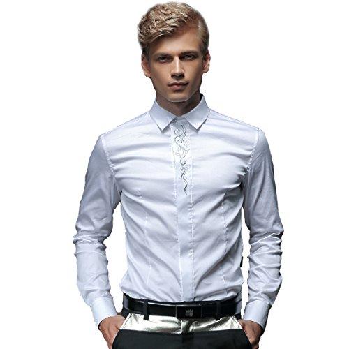 fanzhuan-white-fitted-shirt-men-wedding-dress-shirt-slim-fit-long-sleeve
