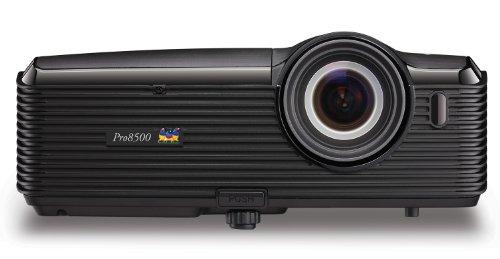 ViewSonic PRO8500 XGA DLP Projector - 120Hz/3D Ready, 5000 Lumens, 3000:1 DCR