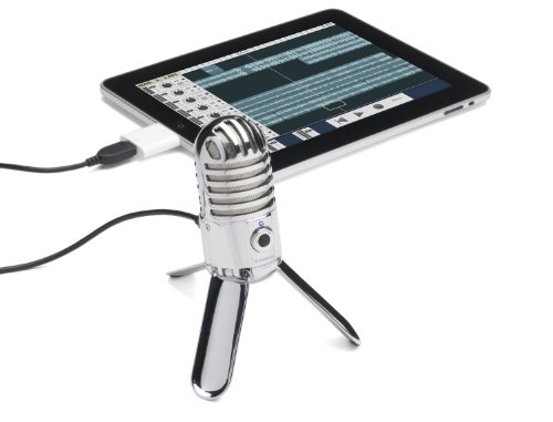 Samson Meteor Mic USB Studio Microphone (Chrome) - 8