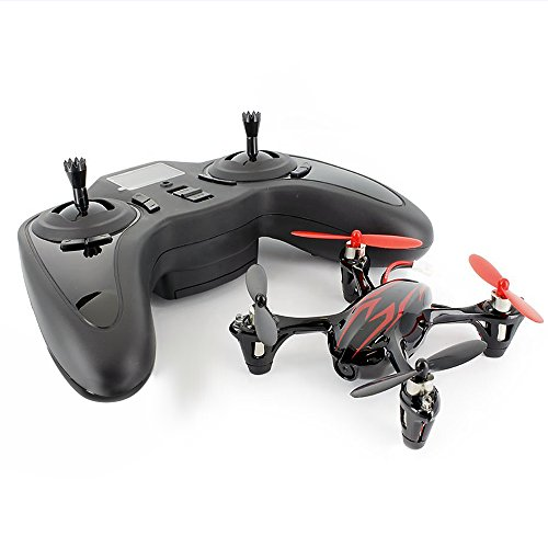HUBSAN X4 H107C Drone 4 Channel 2.4GHz 6 Axis Gyro RC Quadcopter with 720P HD Camera Mode 2 RTF (720P red black)