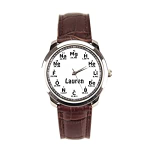 sanYout Leather Watch Cuff Girls Men Wrist Watches White Leather Watch Mens Chemistry