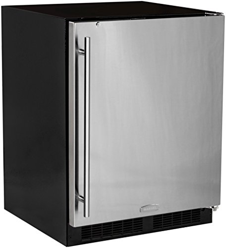 Marvel MA24RAS2RS ADA Refrigerator with Glide Out Crisper and Right Hinge Door, 24-Inch (Refrigerator Door Ajar Alarm compare prices)