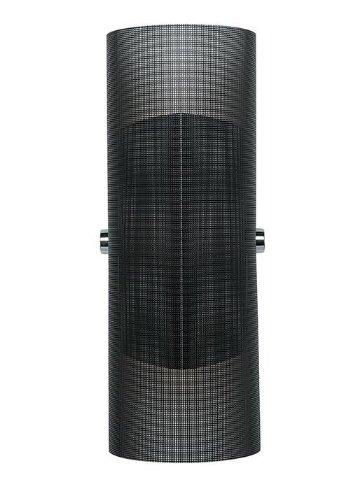 Lbl Lighting Hw614S100T Presidio Tamper-Resistant Halogen Wall Light, Stainless Steel Finish