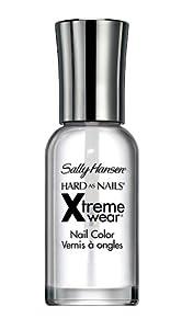 Sally Hansen Hard as Nails Xtreme Wear, Invisible, 0.4 Fluid Ounce