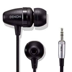 Denon AH-C700K Reference Audio In-Ear Headphones (Black) (Discontinued by Manufacturer)