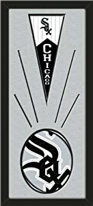 Chicago White Sox Wool Felt Mini Pennant & Chicago White Sox Team Logo Photo -... by Art and More, Davenport, IA