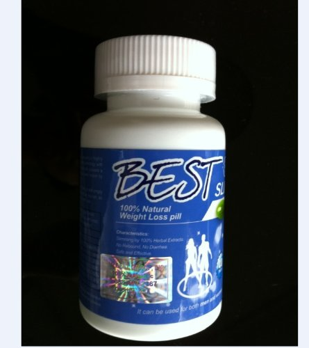 Best Slim 100 % Natural Weight Loss Pill 40 Count