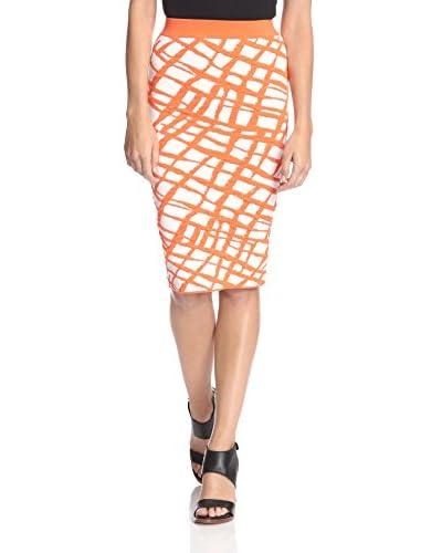 Ronny Kobo Women's Eshana Jacquard Grid Skirt