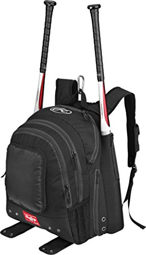 Rawlings Sporting Goods BKPK Backpack, Black (Backpacks Good For Back compare prices)