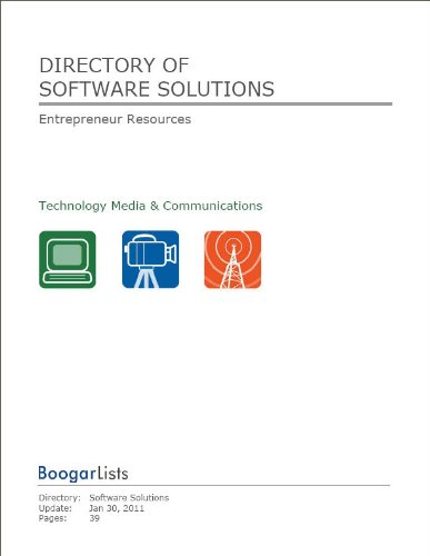 Directory of Software Solutions (BoogarLists)