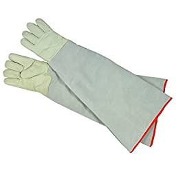 Ultra Long Cryogenic Gloves Waterproof Protective Work Gloves Liquid Nitrogen Frozen Gloves Cold Storage 28.35\