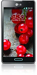 LG Optimus L7 II Brushed metal black