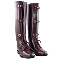 Hot Sale Stallion Ladies Field Boots Horse Riding Sports All Sizes Available (Color:Black Calf:2plus, 8.5)