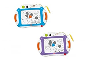 Fisher-Price Kid-Tough Classic Doodler with 2 Stampers, Purple