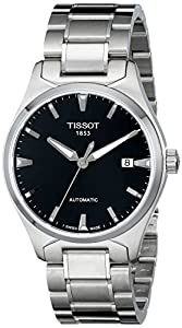 Tissot Men's T0604071105100 T-Tempo Analog Display Swiss Automatic Silver Watch