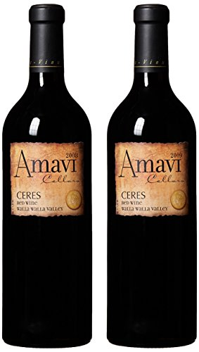 "Amavi Cellars Les Collines Vineyard ""Ceres"" 2008 & 2009 Vintage Vertical Mixed Pack, 2 X 750 Ml"