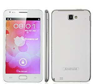 Unlocked Smartphone N8000 5 Inch Screen Android 4.0 Smart Phone Dual Sim Mtk6575 1GHz 3g Tv Gps