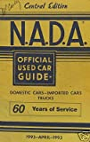 NADA Used Car Guide - Central Edition - April, 1993