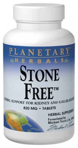 Planetary Herbals Stone Free, 820 mg, Tablets, 180 tablets (Pack of 2)
