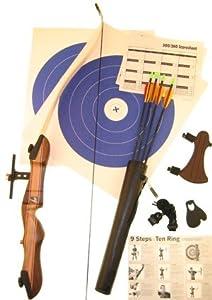 Ragim Wildcat Takedown Recurve Bow Complete Archery Set LH 24#