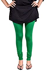 Anuradha Women's 4-way stretchable Cotton-Lycra Slim Fit Leggings (Size: XX-Large)