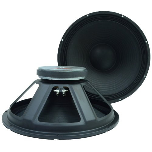 "Seismic Audio - Pair (2) Of 18"" Raw Subwoofers/Woofers/Speakers - Pa Dj Pro Audio Replacement"