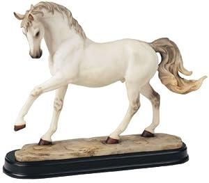 Horses Collection White Horse Figurine Decoration Decor Collectible