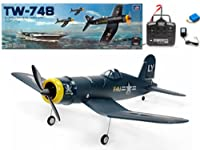 "33"" 4ch Ready to Fly Ep F4u Corsair Tw748 Aerobatic Plane by AZ Importer"