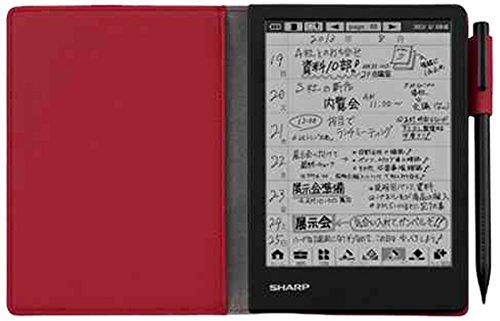シャープ 電子ノート ブラック系 WG-N20-B