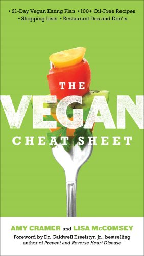 The Vegan Cheat Sheet: Your Take-Everywhere Guide to Plant-based Eating by Amy Cramer, Lisa McComsey