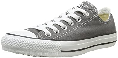 Converse Kids Unisex Chuck Taylor® All Star® Core Ox (Infant/Toddler) Charcoal Sneaker 8 Toddler M