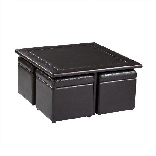 Southern Enterprises, Inc Nylo Storage Cube Table Set