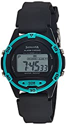 Sonata Digital Black Dial Mens Watch - 77046PP01J