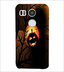 PrintDhaba Halloween D-3052 Back Case Cover for LG NEXUS 5X (Multi-Coloured)