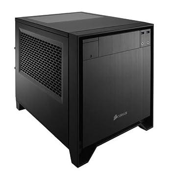 Corsair CC-9011047-WW Obsidian Series 250D Fenêtré Mini-ITX Boitier PC Performant Noir