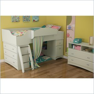 Cheap South Shore South Shore Imagine Kids 2 Piece Bedroom Set in Pure White (3560A3-2PKG)