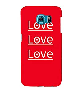 Love Love Quotes Cute Fashion 3D Hard Polycarbonate Designer Back Case Cover for Samsung Galaxy S6 Edge+ :: Samsung Galaxy S6 Edge Plus :: Samsung Galaxy S6 Edge+ G928G :: Samsung Galaxy S6 Edge+ G928F G928T G928A G928I