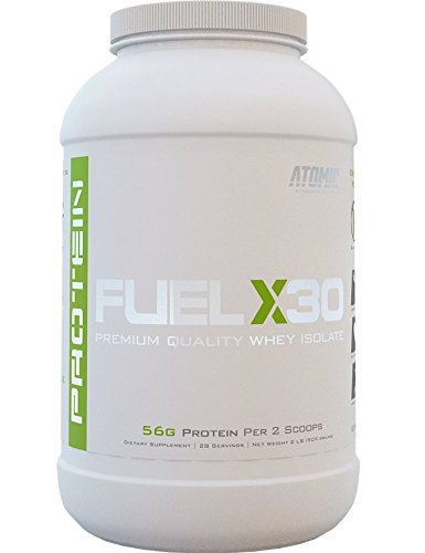 Atomic Strength Nutriton Fuel X30 Premium Quality Whey Isolate (Homemade Ice Cream) (Atomic Fuel X30 compare prices)