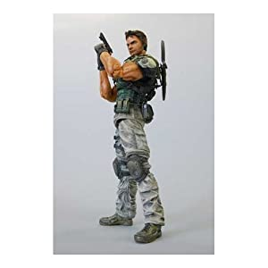 Square Enix Play Arts Resident Evil 5 Deluxe 9 Inch Action Figure Chris Redfield
