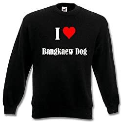 "Children Sweater ""I Love Bangkaew Dog"" different Colors 104 - 116 - 128 - 140 - 152 - 164"