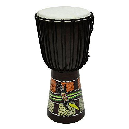 50-cm-djembe-trommel-buschtrommel-afrika-style-exotischer-dotprint-schnure-knoten-ziegenfell-schwarz
