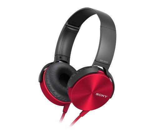 Sony Extra Bass Headphone (Red)