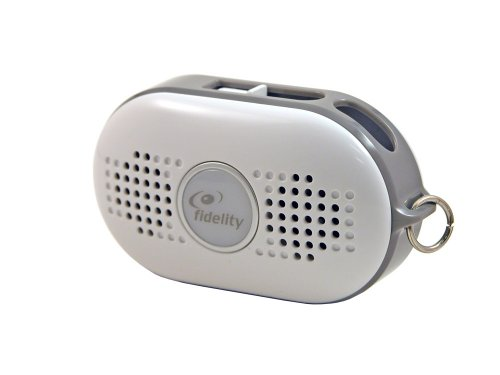 Aiptek Fidelity Mist Portable Speaker For Mp3 Players (Gray)