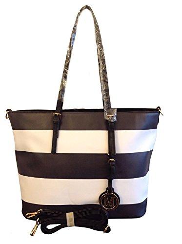 shopper-black-white-stripes-schwarz-weiss-neu-uvp-74-eur