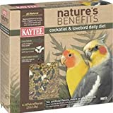 Kaytee Products Natures Benefits Cockatiel & Lovebird 3Lb