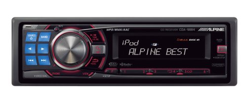 Alpine CDA-9884 In-Dash Radio/CD/MP3 Player (Black)