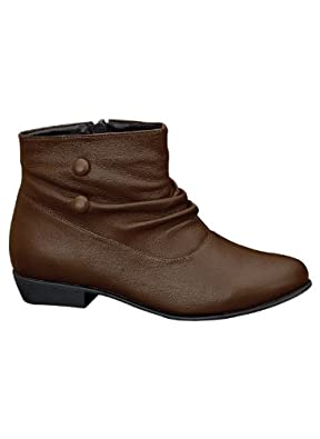 Valley Lane Low Slouch Boots, Color Dark Brown, Size 06 M