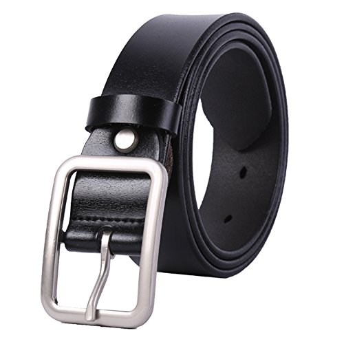 WHIPPY New Arrival Jeans Belt for Women Genuine Leather Belt with Pin Buckle (Belt Women Leather compare prices)